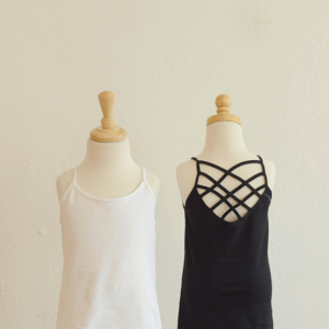 """Spider Cage Cami"" by Suzette (Black)"