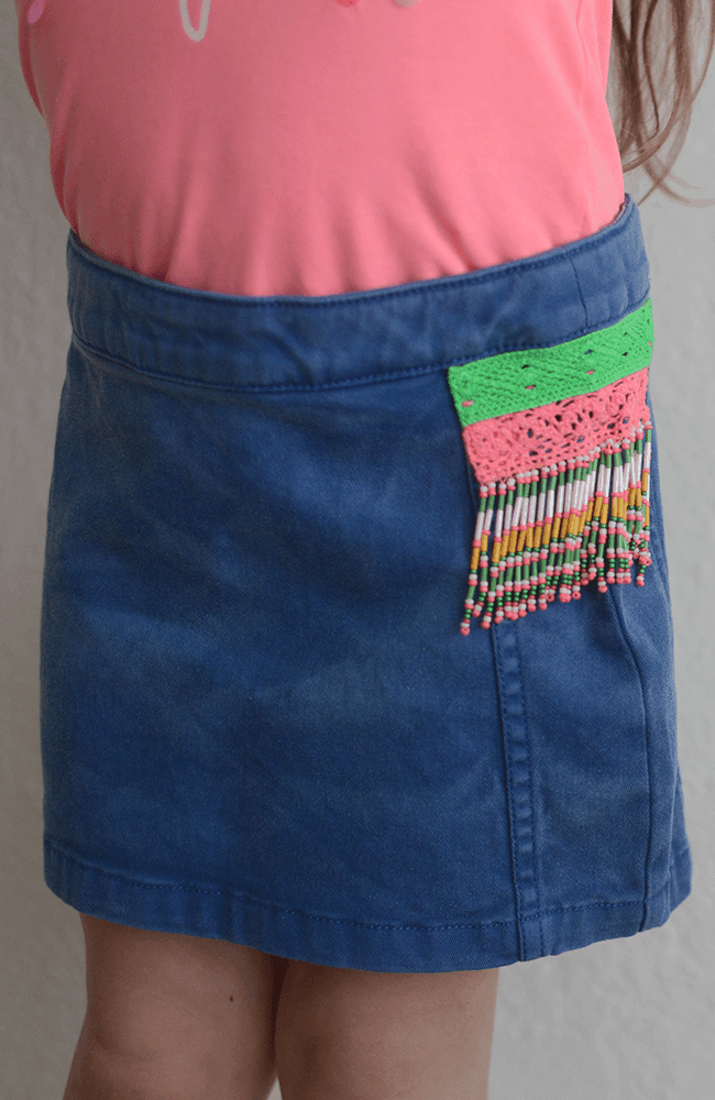 "Billieblush ""Beaded Skirt"""