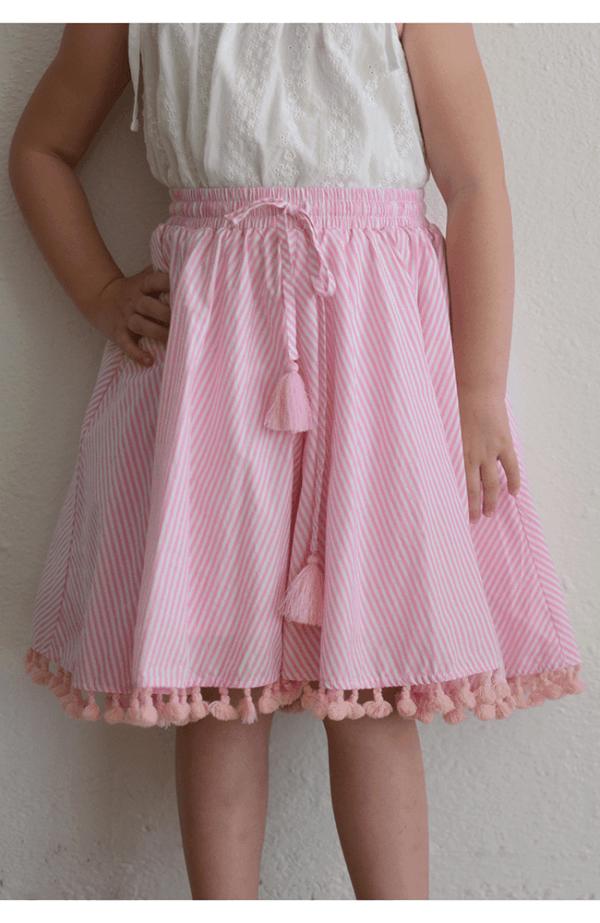 """Paper Wings """"Circle Skirt w/ Tassels"""""""