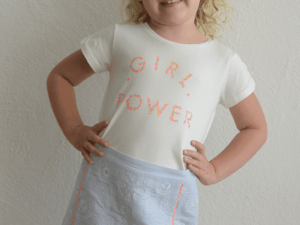 "Billieblush ""Girl Power"" Top"