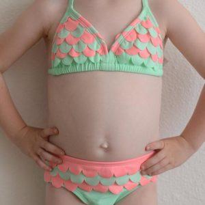 "Hula Star ""Mermaid Scallops"" Swimsuit"