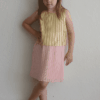 "Billieblush ""Pleated Two-Tone Dress"""