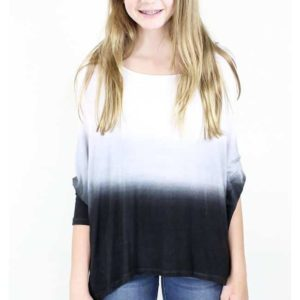 """3 Way Dip Dye Top"" by ERGE"