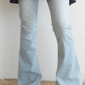 "7 for all Mankind ""A Pocket Flare Jeans"" Daylight Blue"