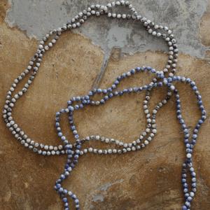 "Delta June Designs ""The Millie Wrap Around Necklace/Bracelet"" Blue"