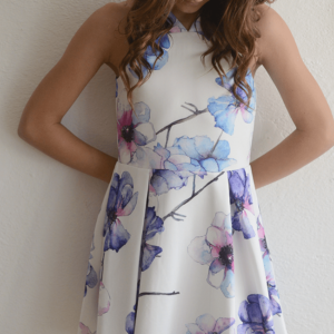 "Elisa B ""Zen Garden"" Floral Dress"