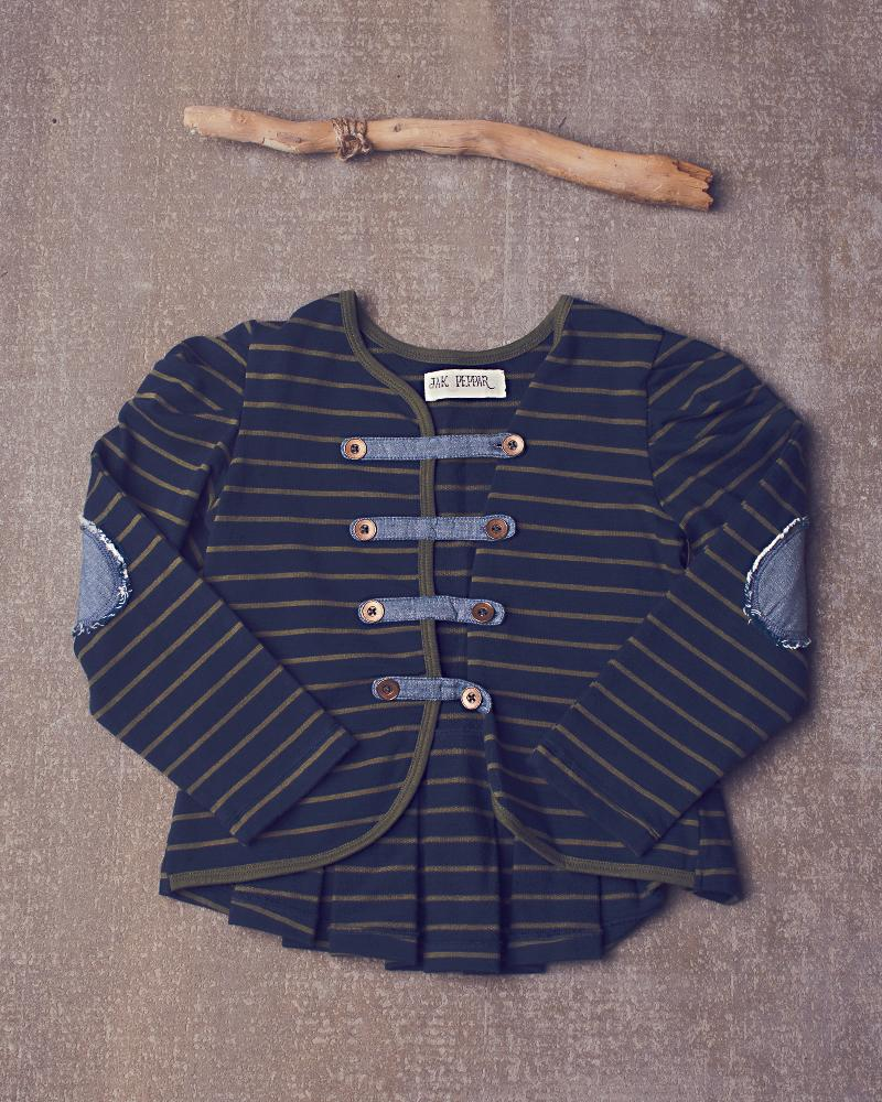 "Jak & Peppar ""Navy Bean Able Jacket"""