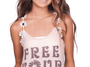 "Love & Sunflowers ""Free Your Soul"" Tank"