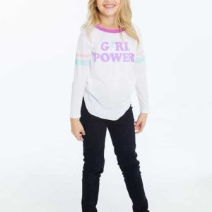 "Chaser Girls Graphic Tee ""Girl Power"""