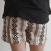 "Hayden LA ""Woven Print Shorts"" Pink"