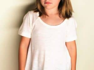 Ivory Tee By Hayden Girls LA