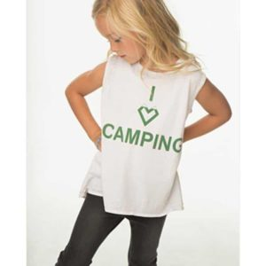 I Heart Camping Tank by Chaser Brand