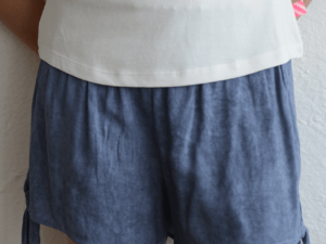 "Love Daisy ""Chambray Short"" Blue"