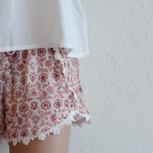 "Love Daisy ""Flower Short"" Pink"