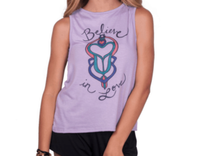 "Love & Sunflowers ""Believe in Love"" Tank"