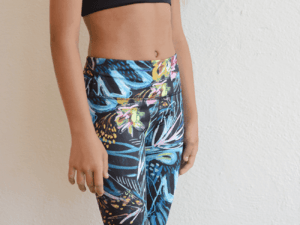 "Miss Behave Fit ""Tropical"" Sports Bra"
