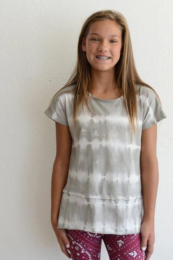 "PPLA ""Abilene Knit Tunic"" Grey"