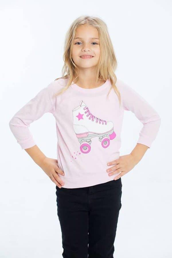 """Chaser Girls Graphic Tee """"Skater Girl"""""""