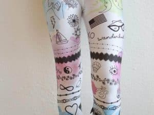 "Terez ""Inked by Dani"" Capri Leggings"