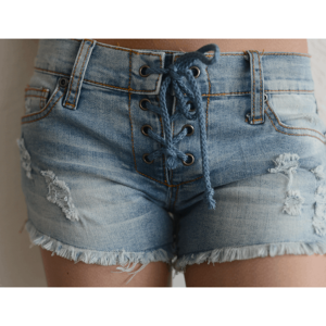 "Vintage Havana ""Lace  Up Shorts"""