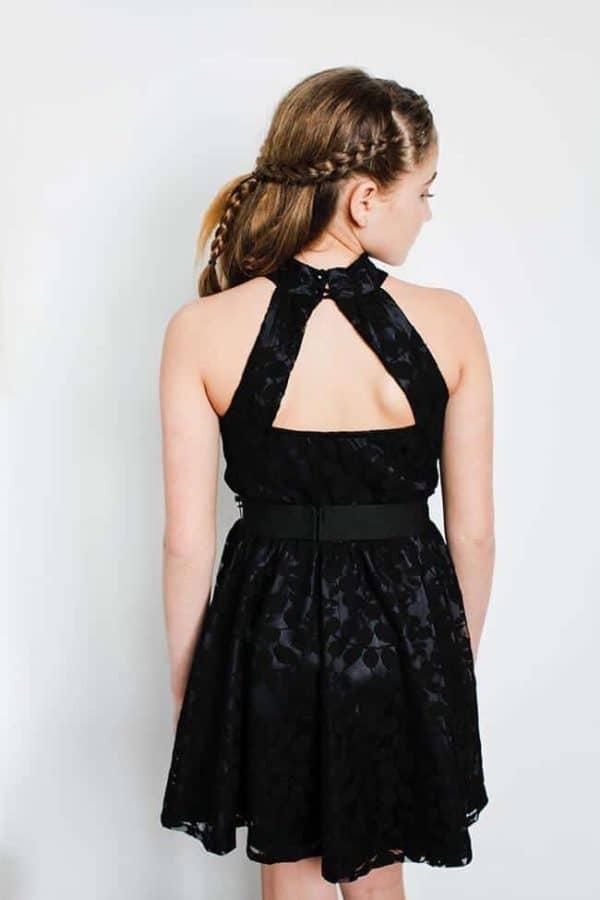 """Gigi Ri """"The Monique Dress"""" Black"""