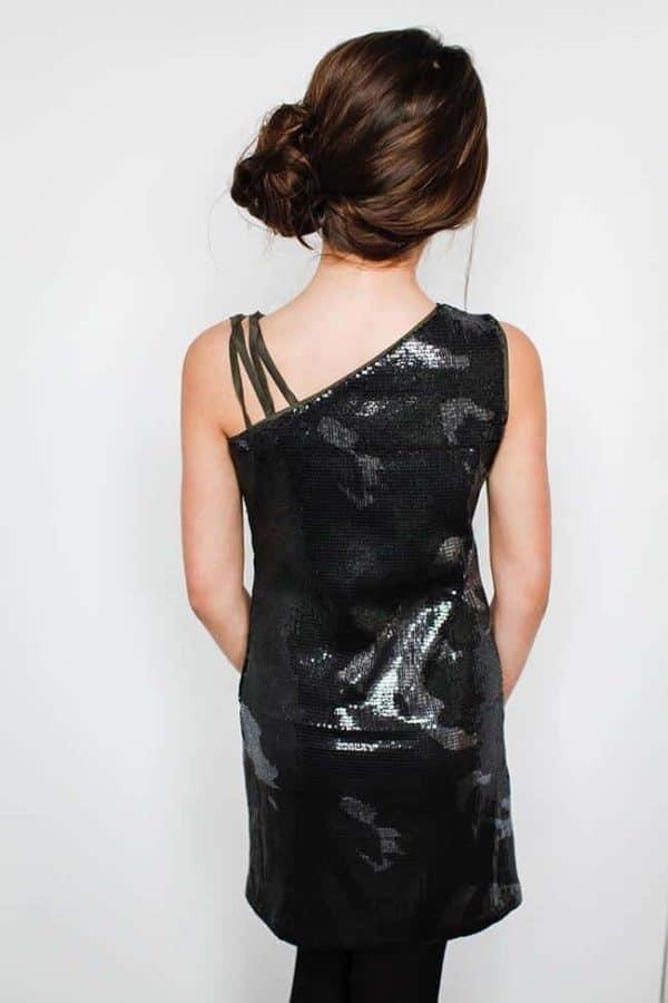 """Gigi Ri """"The Reese Dress"""" Camo Sequin"""