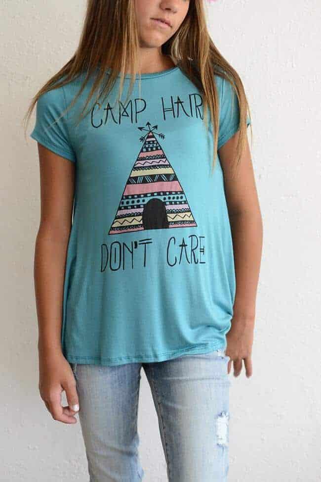 """PPLA """"Camp Hair Knit Tee"""""""