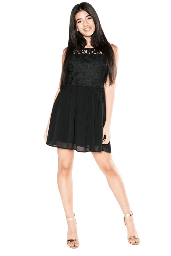 """Emmalie Dress"" Black"