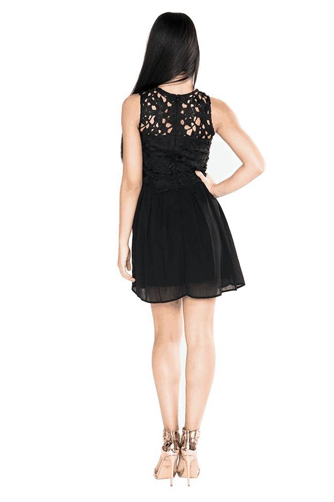 """Emmalie Dress"" Black"