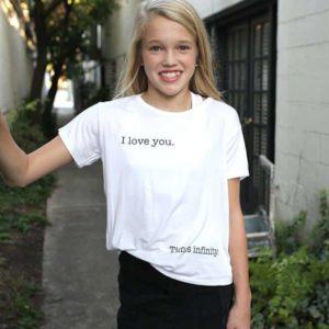 """I Love You x Infinity"" Tee"