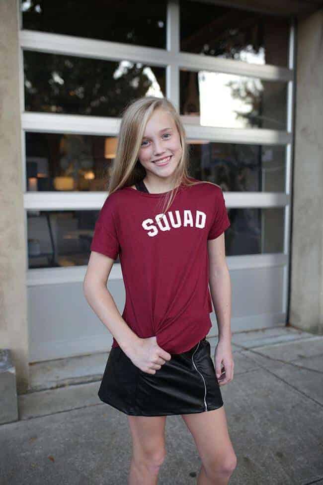 Squad Knit Tee