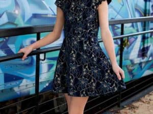 Daina Two-Piece Dress Navy