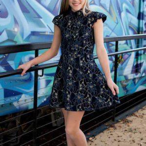 Daina Two-Piece Dress Navy