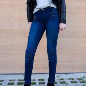 Girls Moto Jeans
