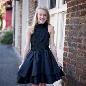 Ruth Dress Black