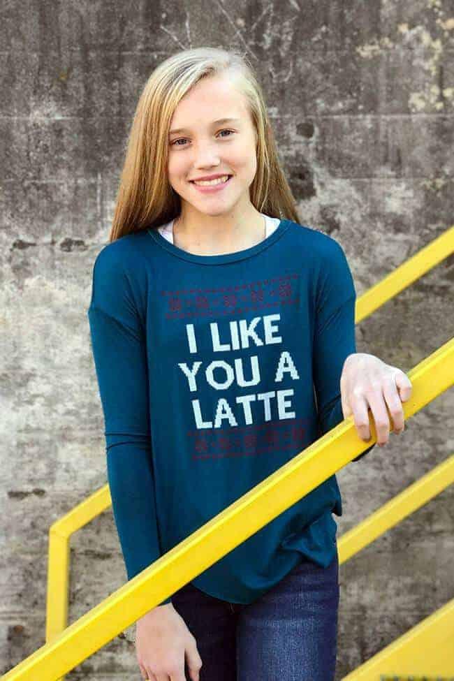 Like You A Latte Teal
