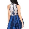 Ruth Navy Floral Dress
