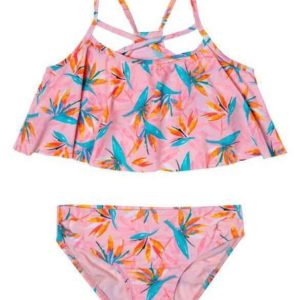Girls Paradise Haven 2-Piece Swimsuit Pink