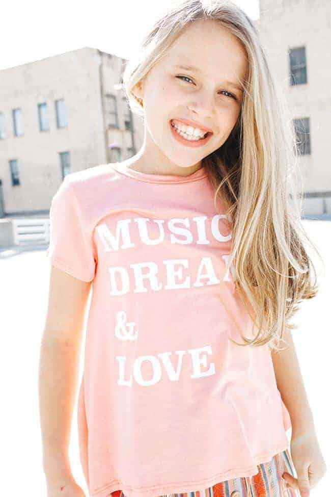 "PPLA ""Music Dreams"" Tee"