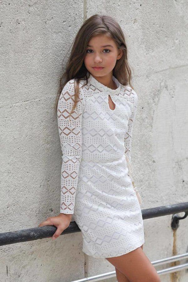 Tween Sheila Dress White