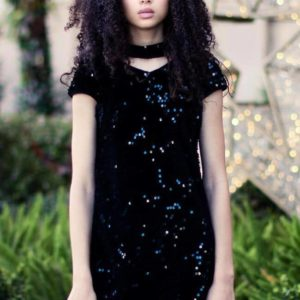 """Gigi Ri """"The Cassandra Dress"""" Black"""