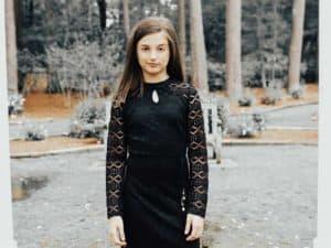 Tween Sheila Dress Black