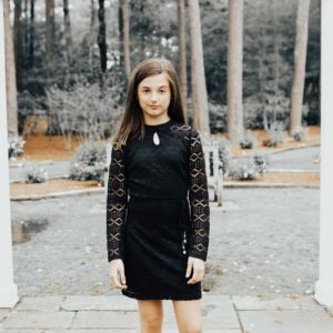 Tween Sheila Dress Black