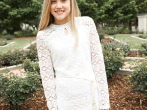 Tween Sheila Dress White