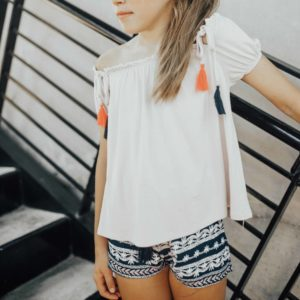 Tween Short ~ Navy