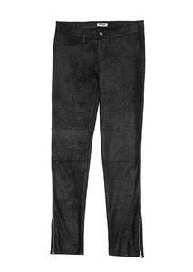 Girls Sueded Crackle Pants
