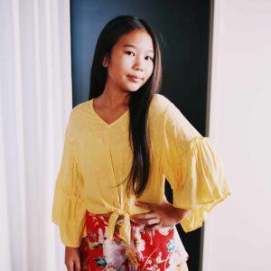 Girls Floral Shorts