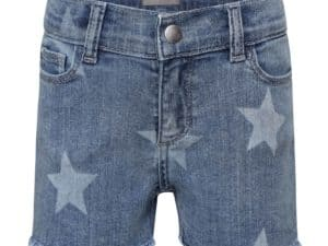Girls Star Denim Short