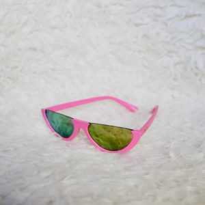 Girls Half Pink Sunglasses