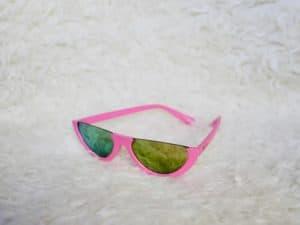 Girls Half Pink Sunglasses